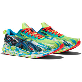 asics Noosa Tri 13 Shoes Men, hazard green/digital aqua